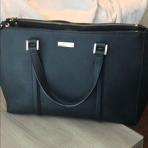Kate Spade Tote (Black) Expandable/Compartments